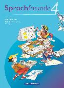Cover-Bild zu Bonas, Heike: Sprachfreunde, Sprechen - Schreiben - Spielen, Ausgabe Süd 2010 (Sachsen, Sachsen-Anhalt, Thüringen), 4. Schuljahr, Sprachbuch