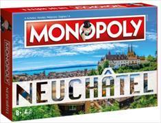 Cover-Bild zu Monopoly Neuchâtel