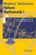 Cover-Bild zu Höhere Mathematik 1 von Meyberg, Kurt