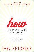 Cover-Bild zu Seidman, Dov: How (eBook)