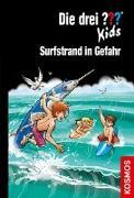 Cover-Bild zu Blanck, Ulf: Die drei ??? Kids, 73, Surfstrand in Gefahr