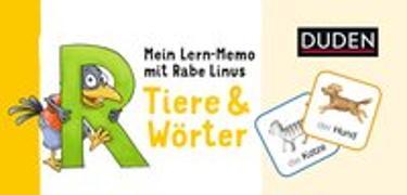 Cover-Bild zu Raab, Dorothee: Mein Lern-Memo mit Rabe Linus - Tiere & Wörter