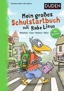 Cover-Bild zu Raab, Dorothee: Mein großes Schulstartbuch mit Rabe Linus
