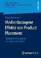 Cover-Bild zu Rathmann, Peggy: Medienbezogene Effekte von Product Placement