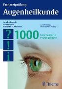 Cover-Bild zu Facharztprüfung Augenheilkunde von Kampik, Anselm (Hrsg.)