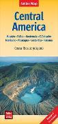Cover-Bild zu Nelles Verlag (Hrsg.): Nelles Map Landkarte Central America   Mittelamerika. 1:1'750'000