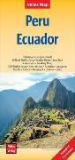 Cover-Bild zu Nelles Verlag (Hrsg.): Nelles Map Landkarte Peru - Ecuador. 1:2'500'000