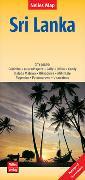 Cover-Bild zu Nelles Verlag (Hrsg.): Nelles Map Landkarte Sri Lanka. 1:500'000