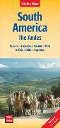 Cover-Bild zu Nelles Verlag (Hrsg.): Nelles Map Landkarte South America: The Andes. 1:4'500'000