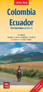 Cover-Bild zu Nelles Verlag (Hrsg.): Nelles Map Landkarte Colombia - Ecuador   Kolumbien, Ecuador. 1:2'500'000
