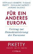 Cover-Bild zu Hennette, Stéphanie: Für ein anderes Europa