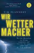 Cover-Bild zu Flannery, Tim: Wir Wettermacher