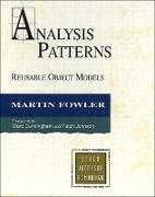 Cover-Bild zu Fowler, Martin: Analysis Patterns: Reusable Object Models