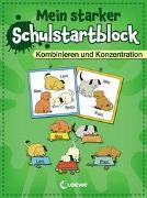 Cover-Bild zu Volk, Roland: Mein starker Schulstartblock - Kombinieren und Konzentration