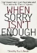 Cover-Bild zu Brooks, Roy L. (Hrsg.): When Sorry isn't Enough
