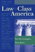 Cover-Bild zu Carrington, Paul (Hrsg.): Law and Class in America