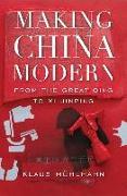Cover-Bild zu Muhlhahn, Klaus: Making China Modern
