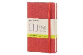 Cover-Bild zu Moleskine: Moleskine Coral Orange Pocket Plain Notebook