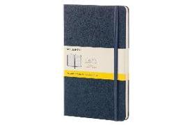 Cover-Bild zu Moleskine: Moleskine Sapphire Blue Large Squared Notebook