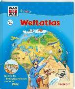 Cover-Bild zu Herrmann, Dr. Heike: WAS IST WAS Junior Weltatlas für Kinder
