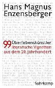 Cover-Bild zu Enzensberger, Hans Magnus: Überlebenskünstler (eBook)