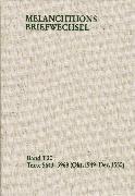 Cover-Bild zu Melanchthon, Philipp: Melanchthons Briefwechsel / Textedition. Band T 20: Texte 5643-5969 (Oktober 1549-Dezember 1550) (eBook)