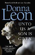 Cover-Bild zu Leon, Donna: Unto Us a Son Is Given
