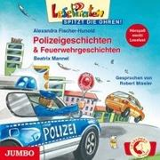 Cover-Bild zu Fischer-Hunold, Alexandra: Lesepiraten spitzt die Ohren. Polizeigeschichten & Feuerwehrgeschichten