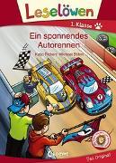 Cover-Bild zu Richert, Katja: Leselöwen 1. Klasse - Ein spannendes Autorennen