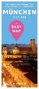 Cover-Bild zu KUNTH Verlag GmbH & Co. KG (Hrsg.): EASY MAP Deutschland MÜNCHEN. 1:17'500