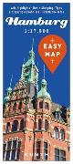 Cover-Bild zu KUNTH Verlag GmbH & Co. KG (Hrsg.): EASY MAP Deutschland HAMBURG. 1:17'500