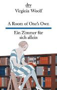 Cover-Bild zu Woolf, Virginia: A Room of One's Own, Ein Zimmer für sich allein