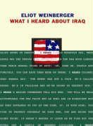 Cover-Bild zu Weinberger, Eliot: What I Heard About Iraq