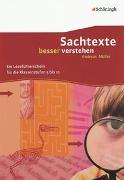 Cover-Bild zu Boes, Waltraud: Sachtexte besser verstehen