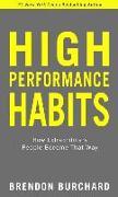 Cover-Bild zu Burchard, Brendon: High Performance Habits