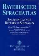 Cover-Bild zu König, Werner (Hrsg.): Sprachatlas von Bayerisch-Schwaben (SBS) / Lautgeographie IV