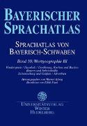 Cover-Bild zu König, Werner (Hrsg.): Sprachatlas von Bayerisch-Schwaben (SBS) / Wortgeographie III