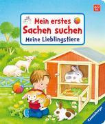 Cover-Bild zu Grimm, Sandra: Mein erstes Sachen suchen: Meine Lieblingstiere