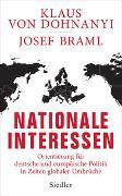 Cover-Bild zu Dohnanyi, Klaus von: Nationale Interessen