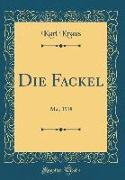 Cover-Bild zu Kraus, Karl: Die Fackel