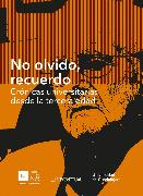 Cover-Bild zu Souza, Jesús Mario Rivas: No olvido, recuerdo (eBook)