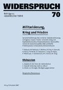 Cover-Bild zu Gebauer, Thomas: Widerspruch 70