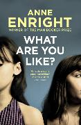 Cover-Bild zu Enright, Anne: What Are You Like