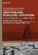 Cover-Bild zu Weber, Hermann (Hrsg.): Deutschland, Russland, Komintern - Dokumente (1918-1943) (eBook)