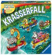 Cover-Bild zu Weber, Bernhard: Ravensburger 20569 - Krasserfall - rasantes Brettspiel für Familien und Kinder - Wettkampf für 2 bis 4 Spieler, Gesellschaftsspiel ab 6 Jahren