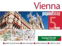 Cover-Bild zu Freytag-Berndt und Artaria KG (Hrsg.): Vienna - Wien, PopOut Map. 1:15'000