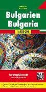 Cover-Bild zu Freytag-Berndt und Artaria KG (Hrsg.): Bulgarien, Autokarte 1:400.000. 1:400'000
