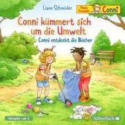 Cover-Bild zu Schneider, Liane: Conni kümmert sich um die Umwelt / Conni entdeckt die Bücher