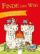 Cover-Bild zu Plikat, Ari (Illustr.): Finde den Weg. Spannende Labyrinthe für Kinder ab 5