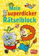 Cover-Bild zu Wagner, Charlotte: Mein superdicker Rätselblock